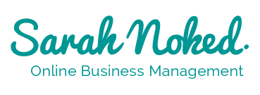 Sarah Noked | Online Business Manager | Online Business Management