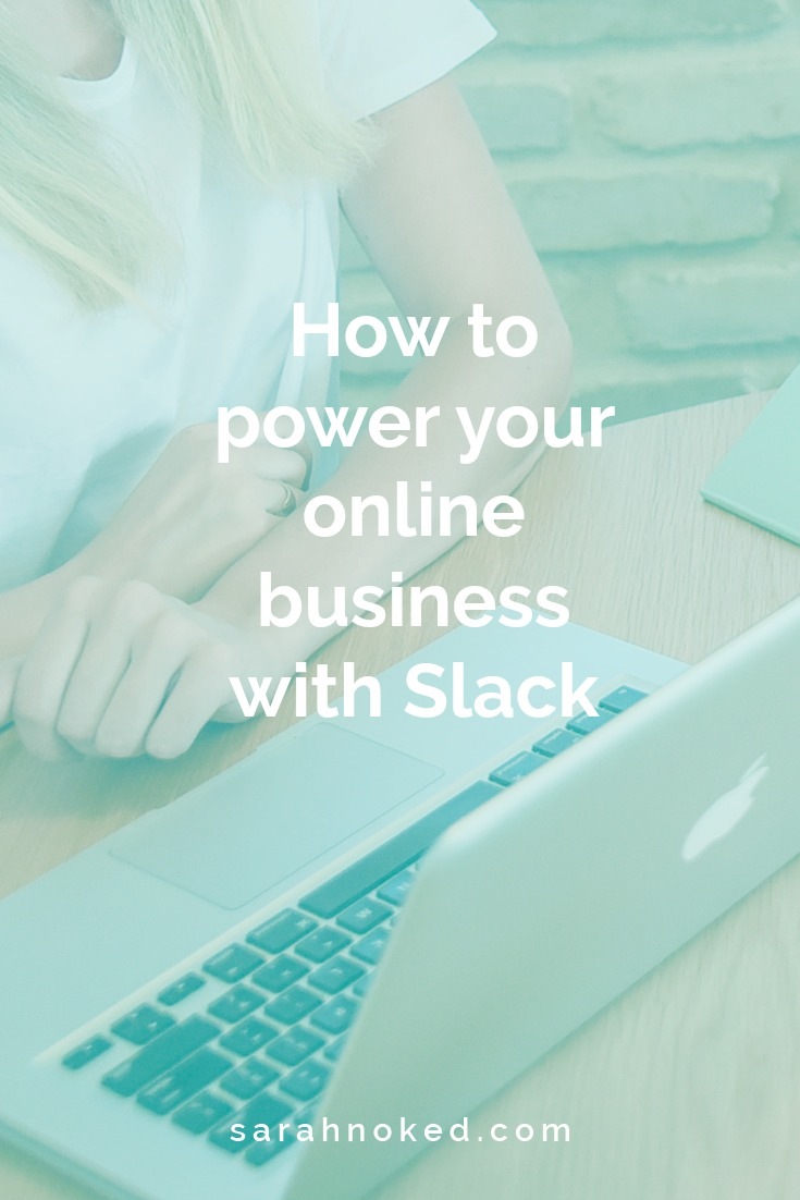 How to power your online business with Slack