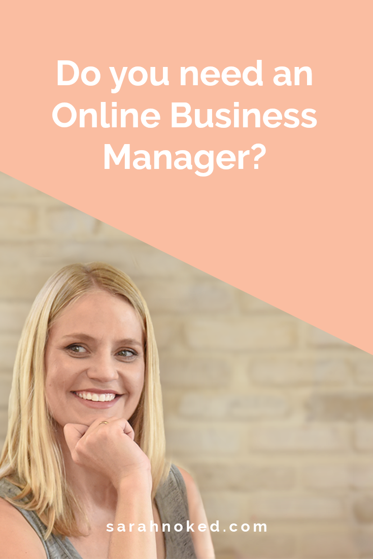 Do you need an Online Business Manager?