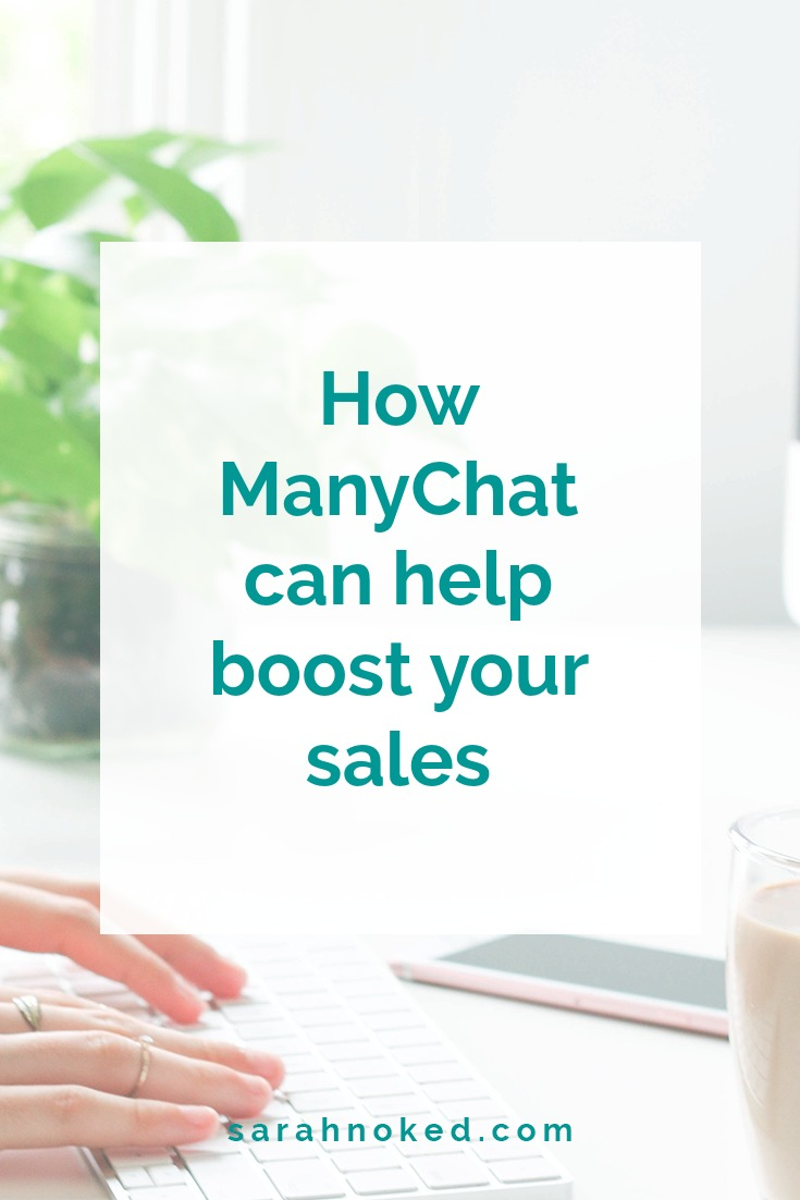 How ManyChat can help boost your sales