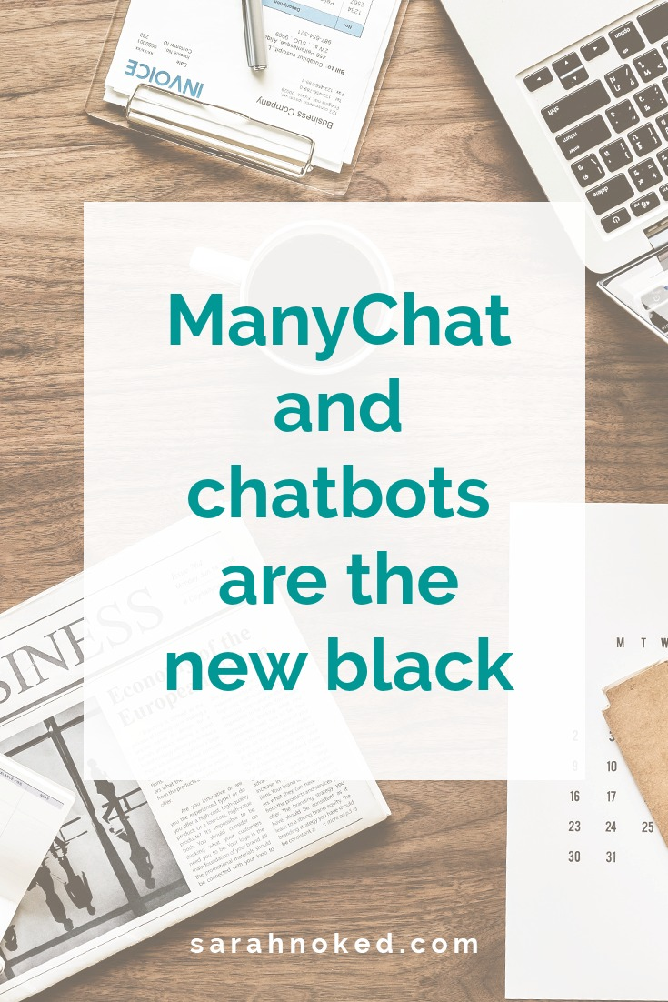 ManyChat and chatbots are the new black