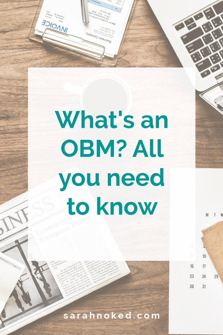 What's an OBM? All you need to know