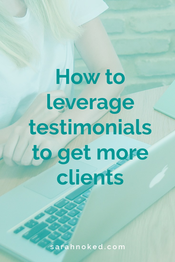 How to leverage testimonials to get more clients