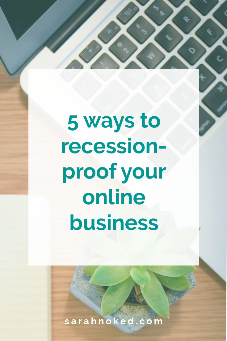 5 ways to recession-proof your online business
