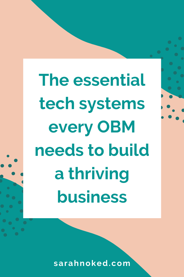 The essential tech systems every OBM needs to build a thriving business