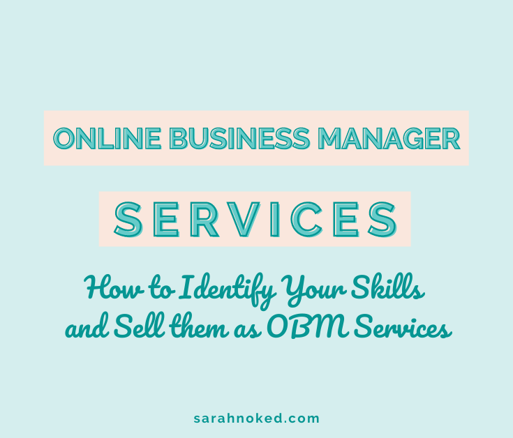 Online Business Manager Services