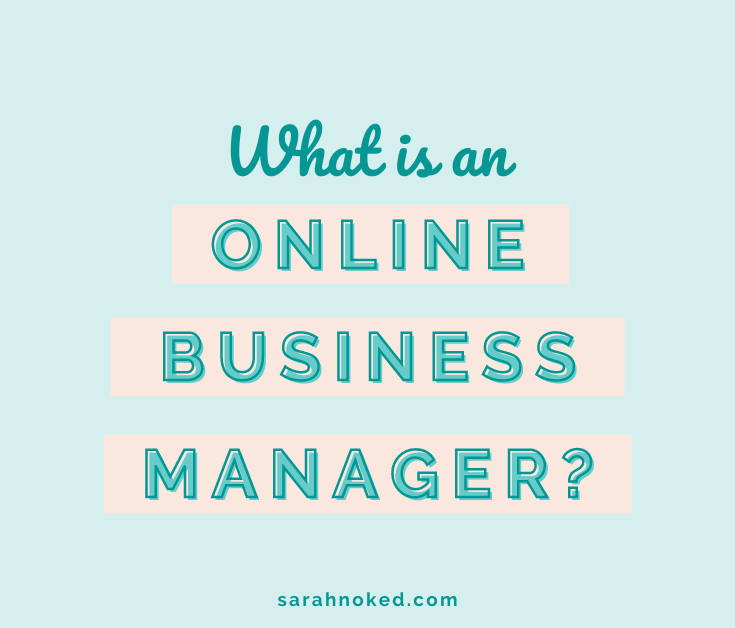 What is an Online Business Manager?