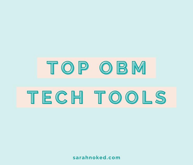 Top OBM Tech Tools