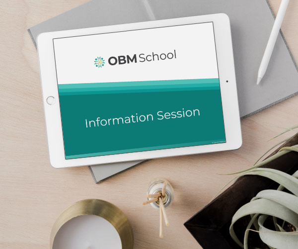OBM School Info Session for Online Business Manager